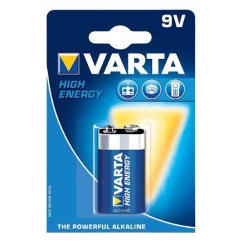 Varta 9V batterijen
