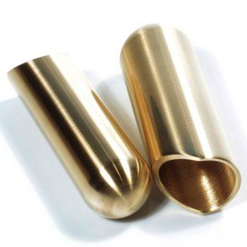 Rock Slide polished brass balltip slide size S