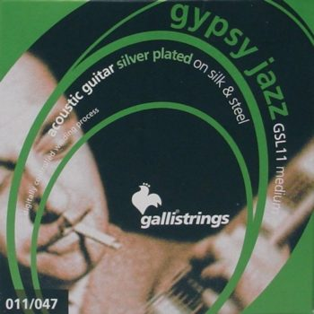 Galli gypsy jazz silk&steel 11-47
