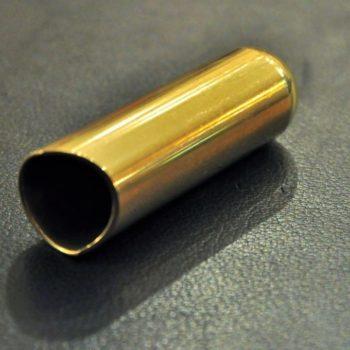 Rock Slide polished brass balltip slide size M