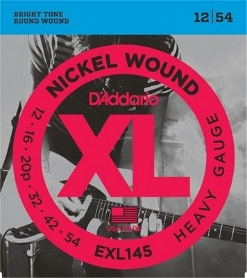 D'Addario Elektrische snaren XL round wound nickel set Heavy 012-054