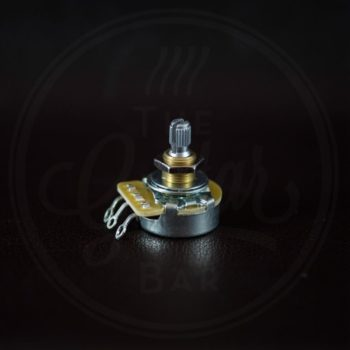 "CTS 250k audio potentiometer, standard length bushing .375"", 3/8"" diameter"