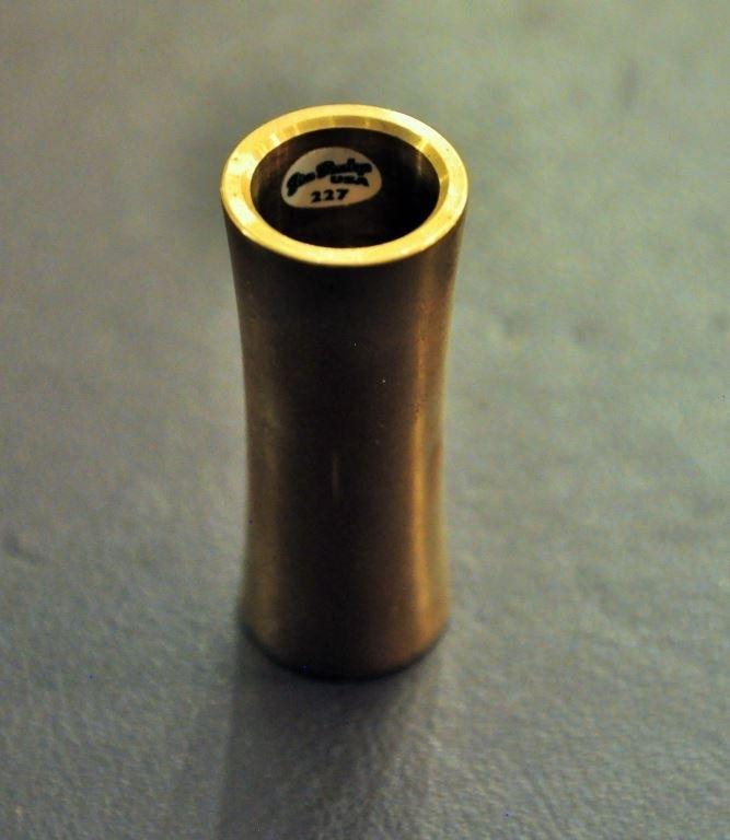 Dunlop Brass slide L=65mm wall=3mm inside=19mm