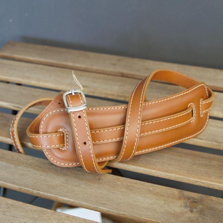 Kaffa Vintage Skinny / honey - white thread