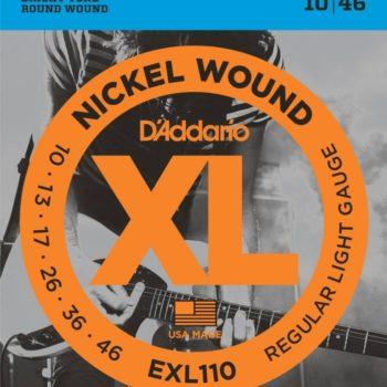 D'ADDARIO E-guit nickel wound 10-13-17-26-36-46