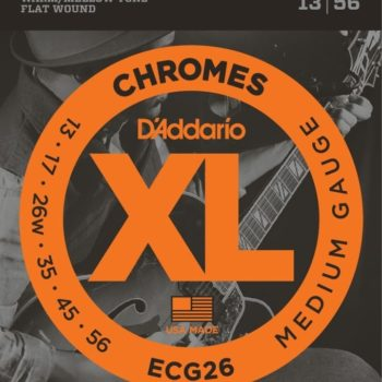 D'ADDARIO Elektrische snaren set Medium 13-56