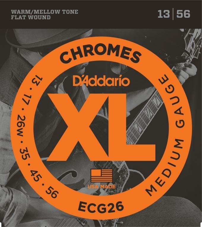 D'ADDARIO Elektrische snaren set Medium 13-56