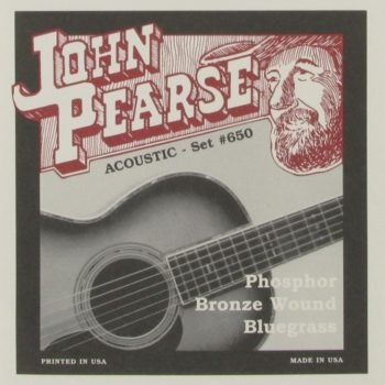 John Pearse 650 Posphor Bronze Wound Bluegrass