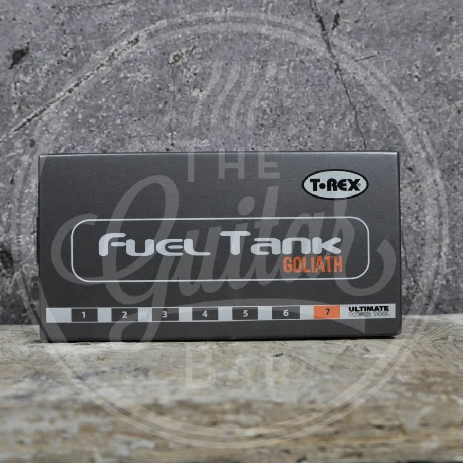 T rex fueltank Goliath Pedal power supply