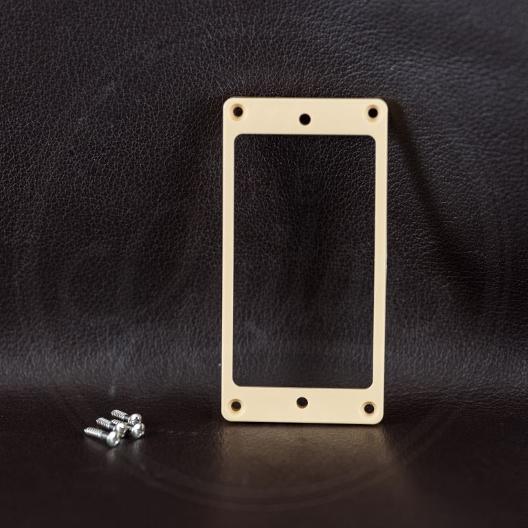 Boston humbucker, plastic, ivory, height: 4,5-6mm, low, flat