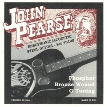 John Pearse Phosphor Bronze Resophonic G-tuning