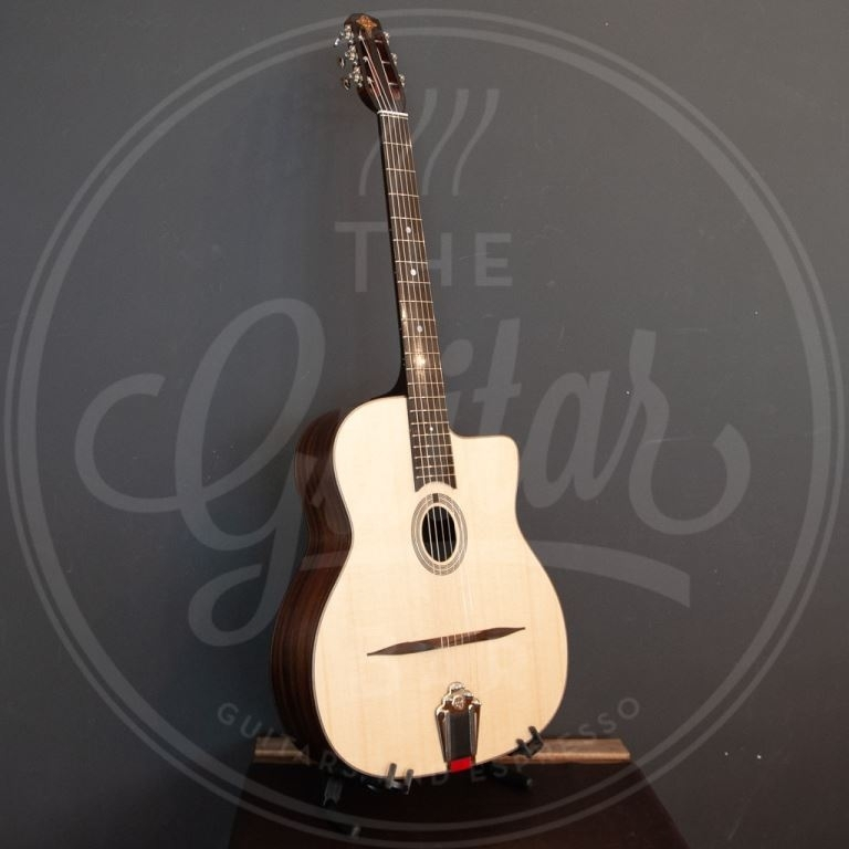 Eastman gypsy jazz petit bouche with gigbag