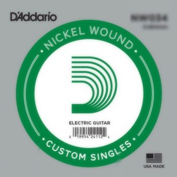 D'Addario Nickel Wound Electrisch 028