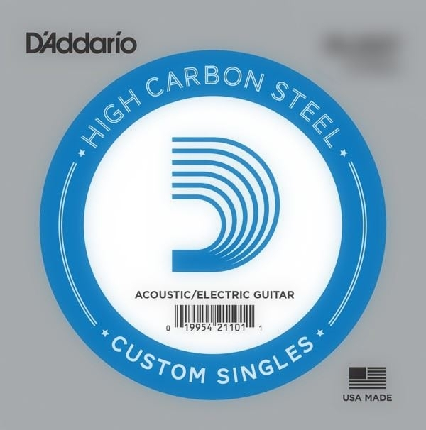 D'Addario High Carbon Steel Acoustic/electric 012