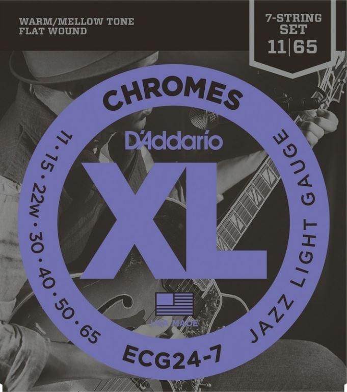 D'ADDARIO Elektrische snaren set jazz Light 11-65
