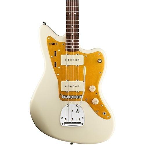 Squier J Masics Jazzmaster Vintage White