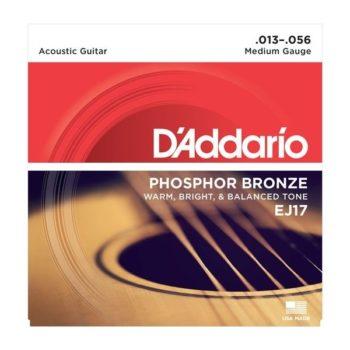 D'ADDARIO Snaren A-guitar Fosfor Brons 13-56