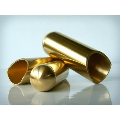 Rock Slide polished brass balltip slide size S