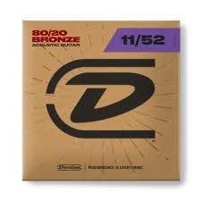Dunlop A-guitar 80/20 bronze 11-52