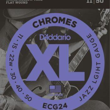 D'ADDARIO E-guitar flatwound 11-50