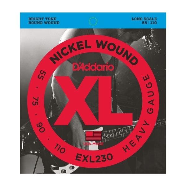 D'Addario XL round wound nickel 55-75-90-110