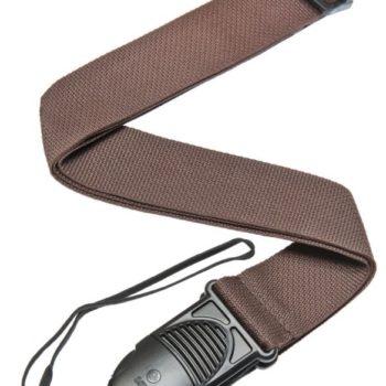 D'Addario quick release strap classic brown