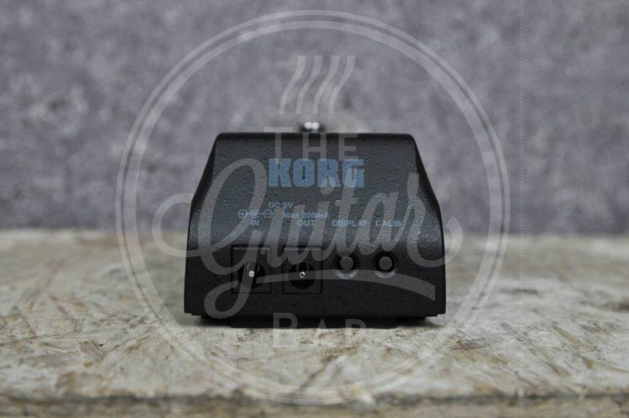 Korg digitale pedaltuner pitchblack