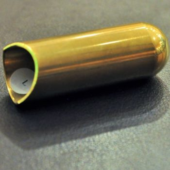 Rock Slide polished brass balltip slide size L