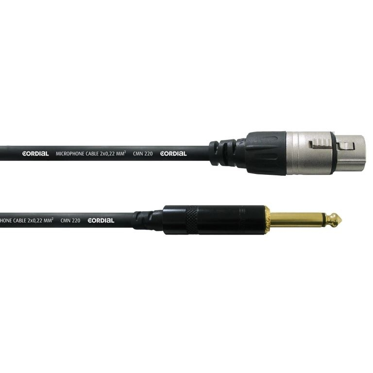 Cordial CCM 7,5 FP - microfoon kabel - 7,5 mtr.