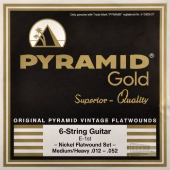 Pyramid Gold Flatwound 1252