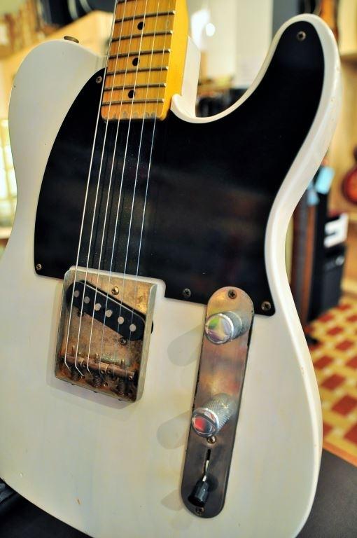 VC Guitars ToneTwister S, White Blonde, with gigbag