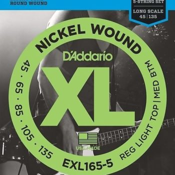 D'Addario WND NICKEL BASS 45-65-85-105-135