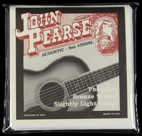 John Pearse Strings 550SL Phosphor Bronze slightly light