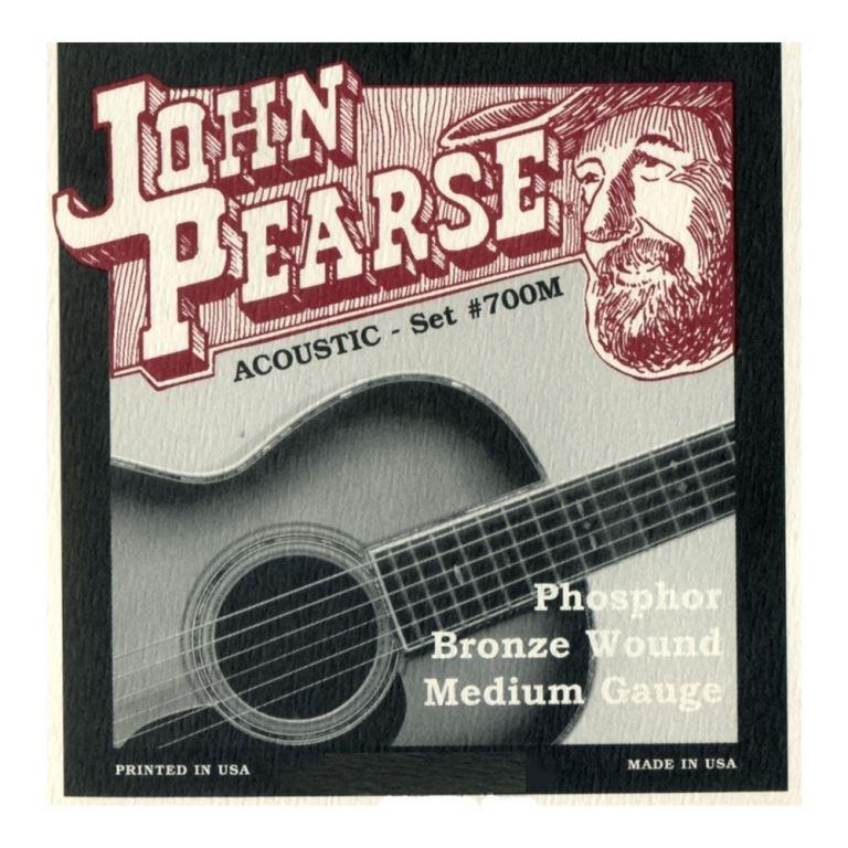 John Pearse 700M phosphor Bronze medium