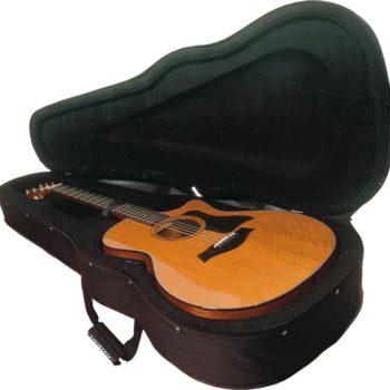 Tobago softcase gitaar nylonstring - zwart