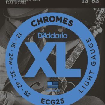 D'ADDARIO flatwound E-guitar 12-52