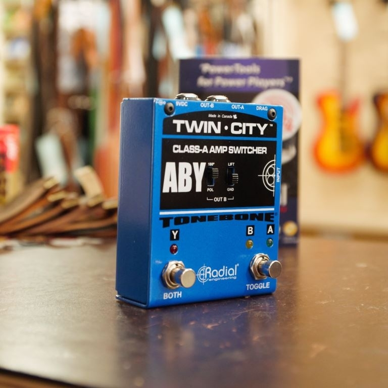 Radial Tonebone twin city active ABY