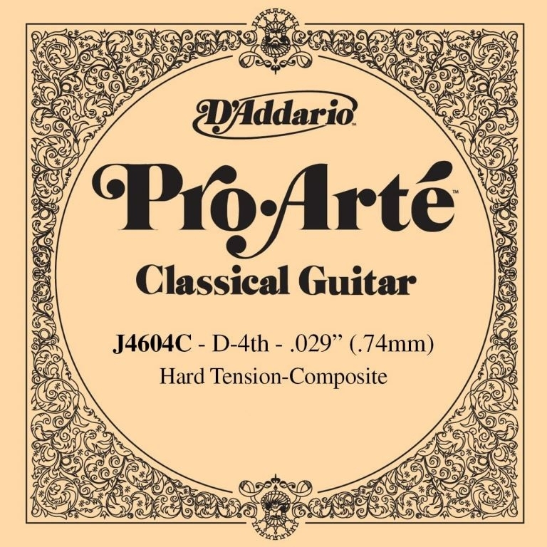 D'Addario high tension Dstring composite