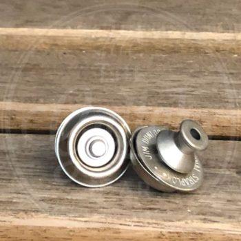Dunlop dual vintage straplock nickel