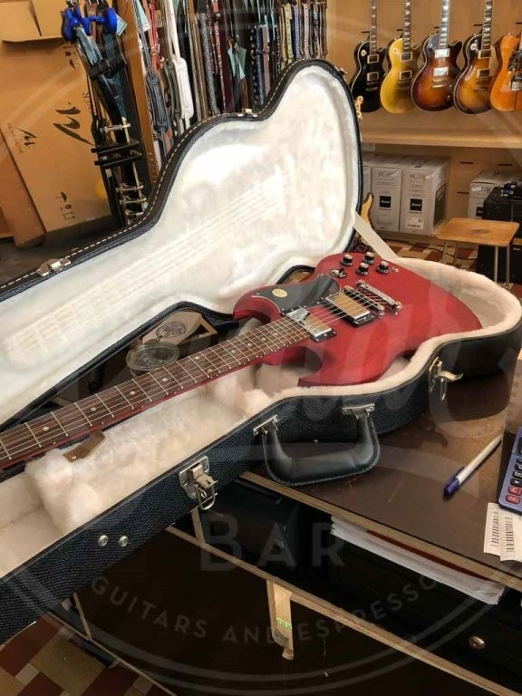 Gibson SG faded incl koffer