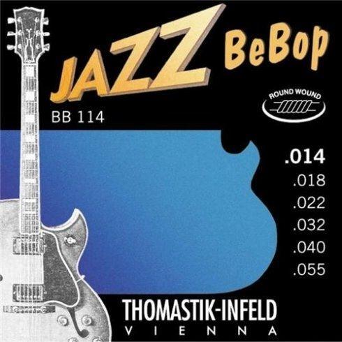 Thomastik Jazz Bebop nickel rwnd 14-55