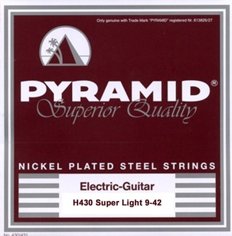 Pyramid nickel plated steel 9-42