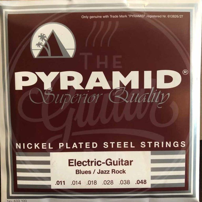Pyramid Nickel plated steel 11-48