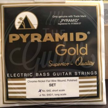 Pyramid Gold Flatwound Shortscale bass 40/100