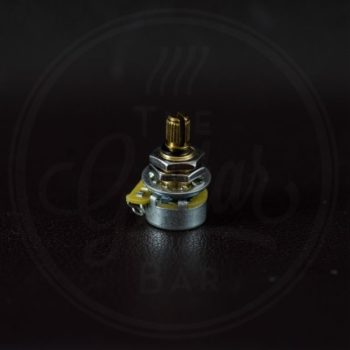 CTS 500k mini audio potentiometer, 9% tolerance, brass shaft