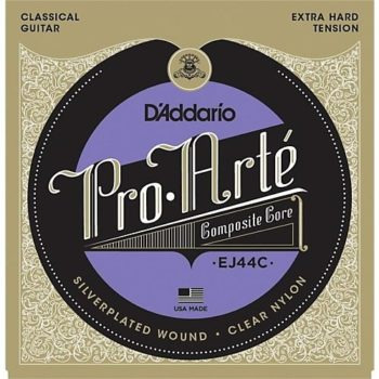 D'Addario extra high tension set composite