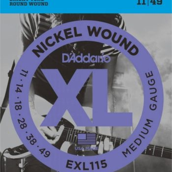 D'Addario E-guit Nickel wound 11-14-18-28-38-49