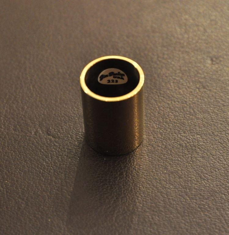 Dunlop METAAL medium knuckle messing 19/22/28