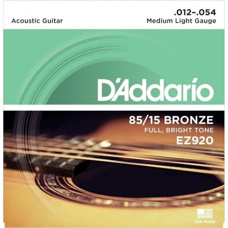 D'Addario 85/15 bronze 12-54