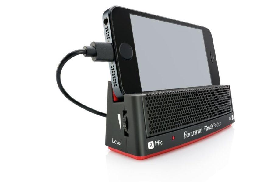 Focusrite Iphone dock I-track Pocket